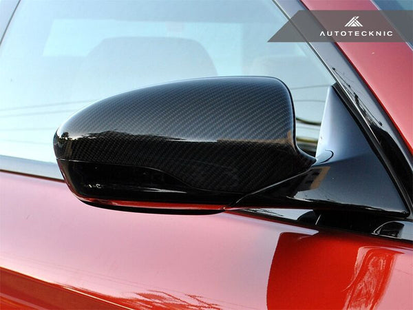 Autotecknic Replacement Carbon Fiber Mirror Covers BMW F10 M5 | F06 / F12 / F13 M6