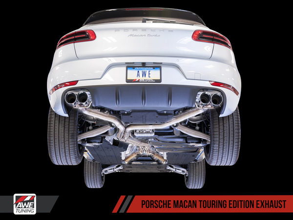 AWE Tuning Touring Edition Exhaust 2014-2018 Porsche Macan