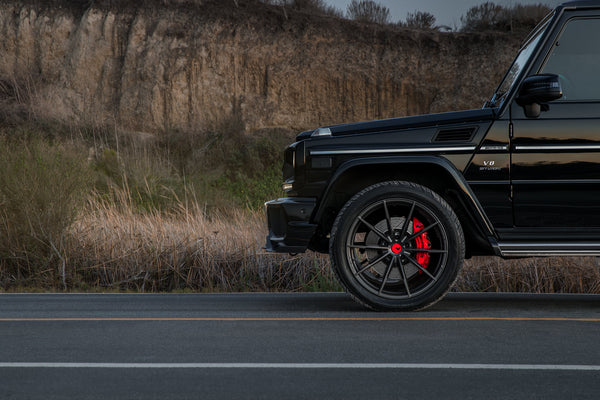 22x10.5  Vorsteiner V-FF 109 Carbon Graphite Wheels: Mercedes G-Class Fitment
