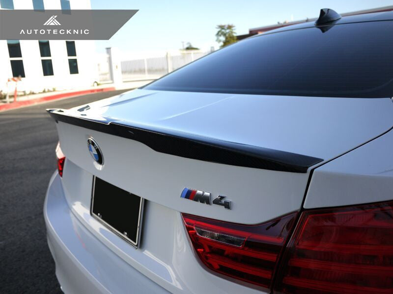 AutoTecknic Vacuumed Carbon Fiber Performante Trunk Spoiler BMW F82 M4