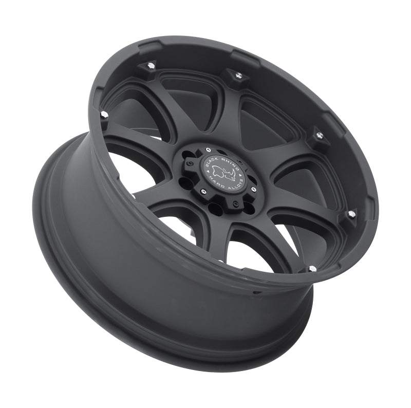 Black Rhino Glamis 18x9.0 6x139.7 ET-12 CB 112.1 Matte Black Wheel