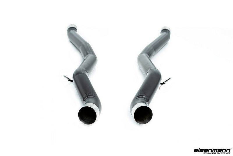 Eisenmann F90 M5 Black Series Non-Resonated Center Pipes