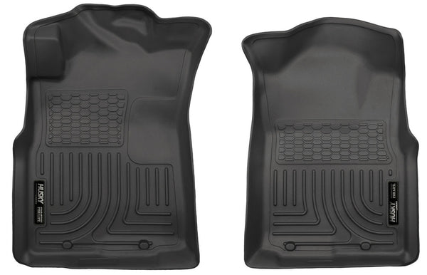 Husky Liners WeatherBeater Floor Liners 2005-2014 Toyota Tacoma Regular / Access /  Crew Cab (Front)
