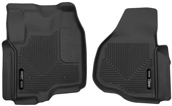 Husky Liners X-act Contour Floor Liners 2012-2016 Ford F-250/F-350/F-450 Super Duty Crew Cab/Super Cab w/driver's side foot rest (Front)