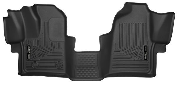 Husky Liners X-act Contour Floor Liners 2015-2018 Ford Transit 150/250/350 (Front)