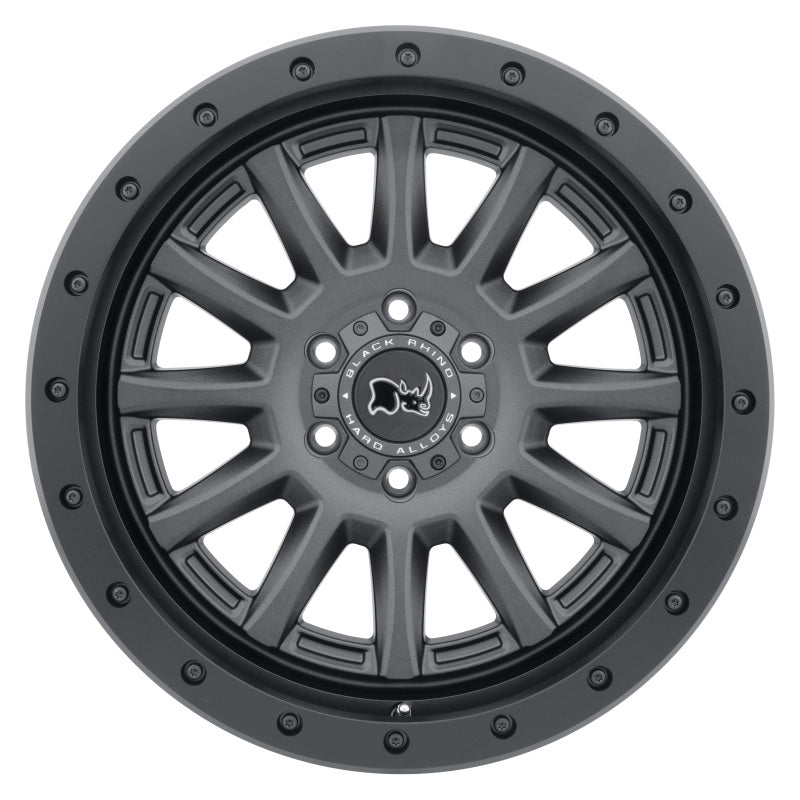 Black Rhino Dugger 20x9.0 6x114.3 ET10 CB 66.1 Gun Black Wheel