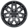 Black Rhino Ridge 18x9.0 5x127 ET02 CB 71.6 Matte Black Wheel