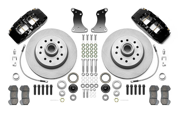 Wilwood Dynapro 6 Piston Front Disc Brake Kit 1951–1959 Chevy/GMC 1/2 Ton Truck