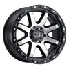 Black Rhino Coyote 18x9.0 6x139.7 ET-18 CB 112.1 Gloss Black w/Machined Face & Stainless Bolts Wheel