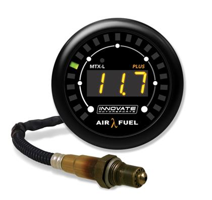 Innovate MTX-L PLUS Digital Air/Fuel Ratio Gauge Kit (8 Ft. Cable)