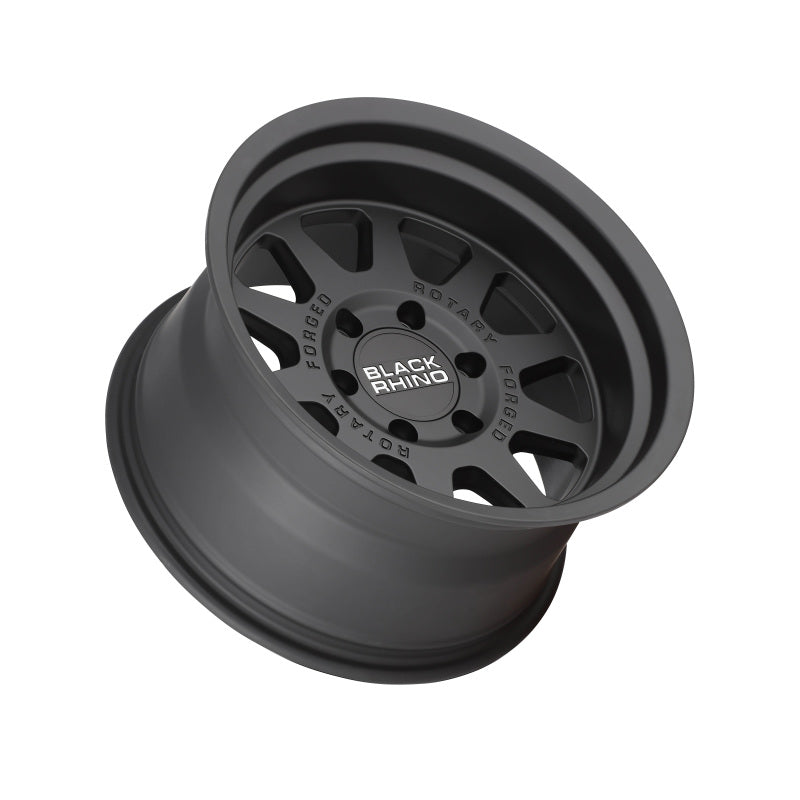 Black Rhino Stadium 18x9.0 6x114.3 ET12 CB 76.1 Matte Black Wheel