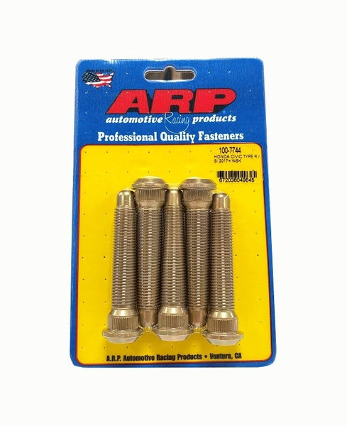 ARP Wheel Stud 2017–2020 Honda Civic Type R and Si (5 Pack) 100-7744