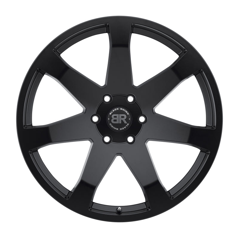 Black Rhino Mozambique 20x8.5 6x139.7 ET45 CB 112.1 Matte Black Wheel