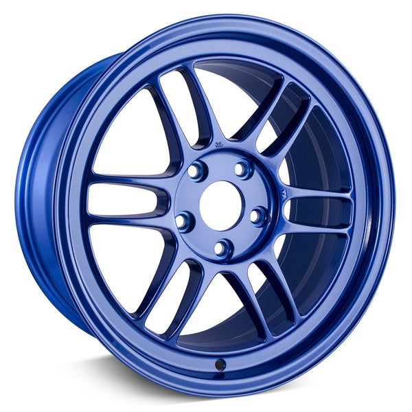 18x9.5 Enkei Racing RPF1 5x114.3 15mm Offset (Victory Blue)