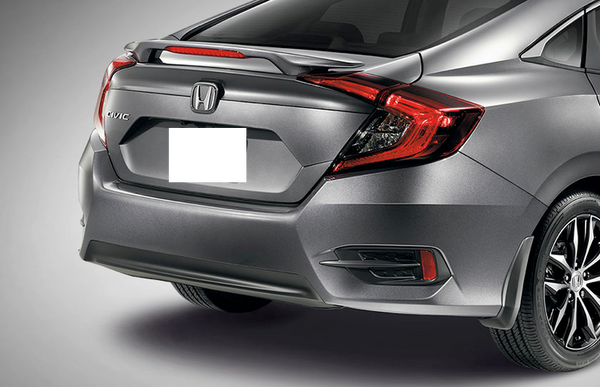 2016+ Honda Civic Sedan Factory Style Lip Spoiler (with light)