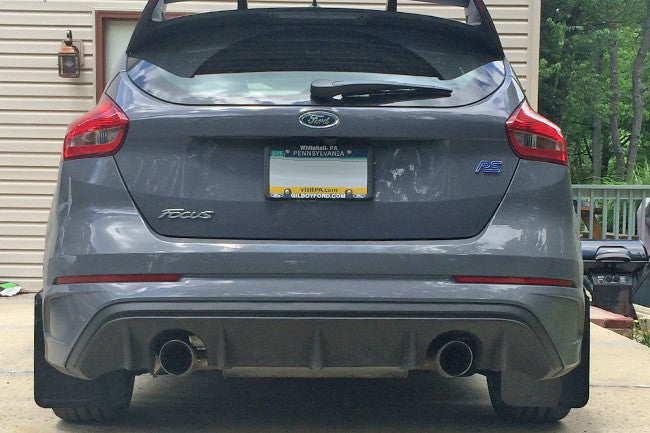 rally armor 2012 17 ford focus st 2016 rs mud flap light
