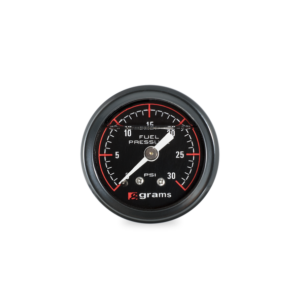 Grams Performance Fuel Pressure Gauge 0-30 PSI
