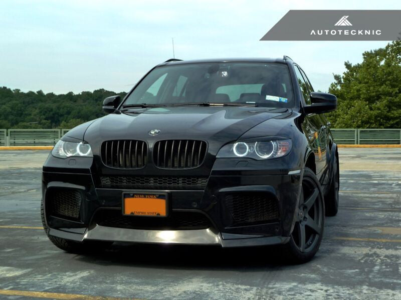 Autotecknic Carbon Fiber Headlight Covers BMW E70 X5 / X5M | E71 X6 / X6M
