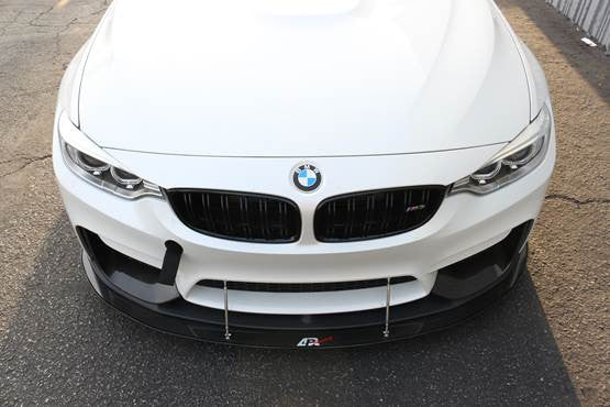 APR Carbon Fiber Wind Splitter 2014-up BMW F80 M3 / F82 M4 With M Performance Bumper