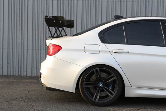 "APR GTC-300 2015-up BMW F82 M4 Carbon Fiber Adjustable Wing 67"" Airfoils"