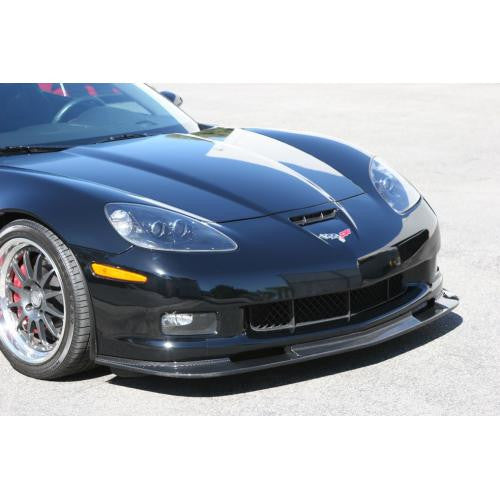APR Carbon Fiber Front Air Dam 2005-2013 Chevrolet Corvette/C6 ZO6,Grand Sport and ZR-1 ONLY Version II with Bumper Reinforcement