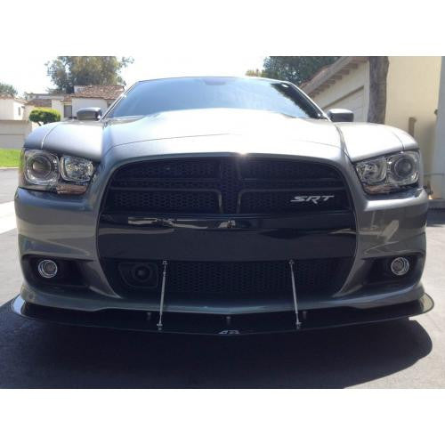 APR Carbon Fiber Wind Splitter 2011-up Dodge Charger SRT-8