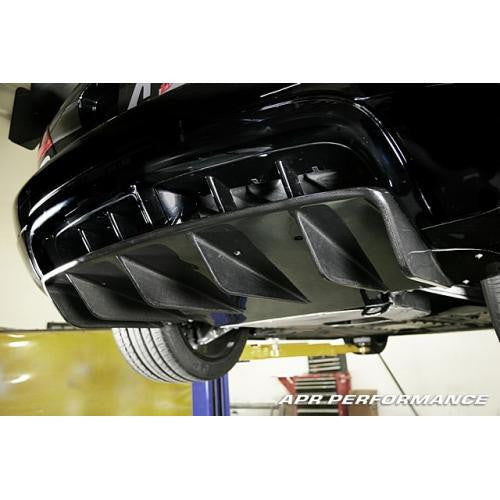 APR Carbon Fiber 2003-up Dodge Viper SRT-10 Convertible Only Rear Diffuser
