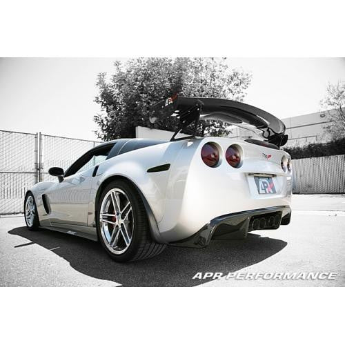 APR Carbon Fiber 2005-up Chevy Corvette C6 (with Coilover Only) Rear Diffuser