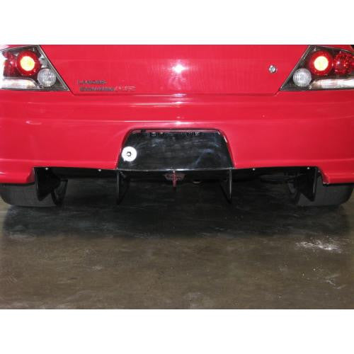 APR Carbon Fiber Mitsubishi/Evil-R Kit Rear Diffuser With APR Widebody Kit Bumper Only