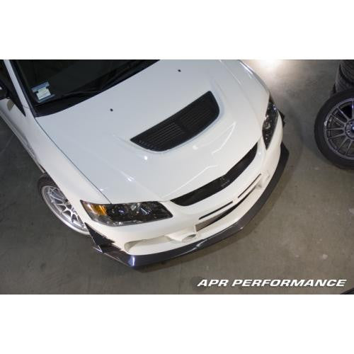 APR Carbon Fiber Front Air Dam 2006-2007 Mitsubishi Evo 9
