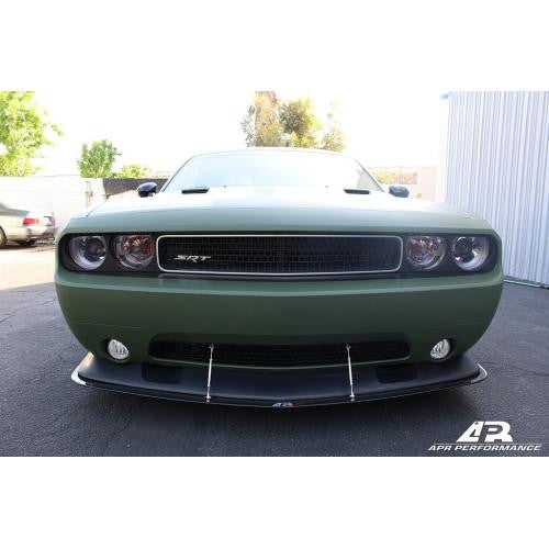 APR Carbon Fiber Wind Splitter 2011-up Dodge Challenger SRT-8