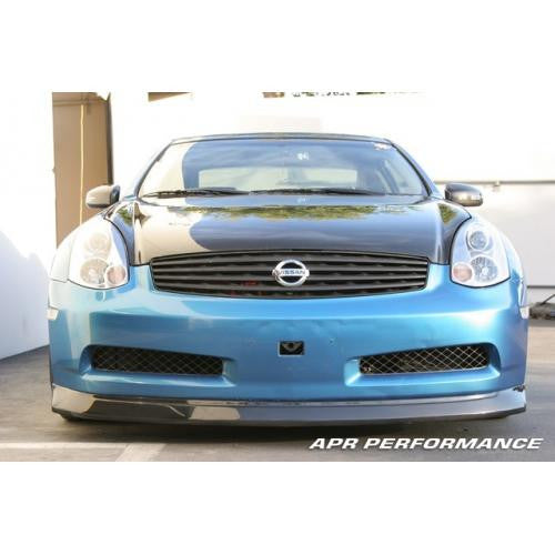 APR Carbon Fiber Front Air Dam 2003-2006 Infiniti G35 (no sports package)
