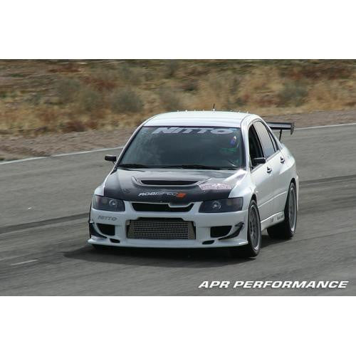 Carbon Fiber 2003-2007 Mitsubishi Evolution Formula 3 Mirror Black