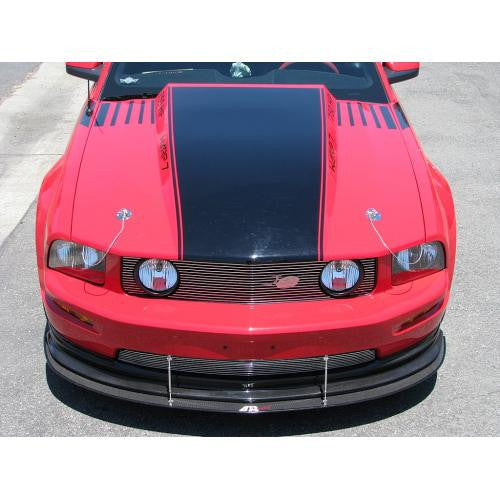 APR Carbon Fiber Splitter 2005-2009 Ford Mustang GT W/ APR Airdam Wind Splitter