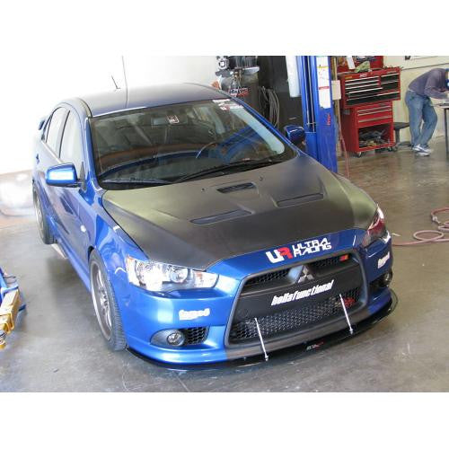 APR Carbon Fiber Wind Splitter 2009-2016 Mitsubishi Lancer Ralliart