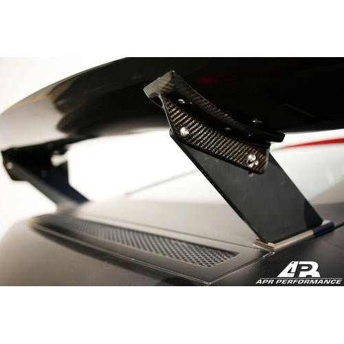APR GTC-500 2006-up Audi R8 Carbon Fiber Adjustable Wing