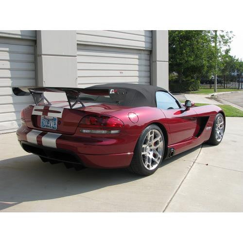 APR GTC-500 2003-2010 Dodge Viper Convertible Carbon Fiber Adjustable Wing