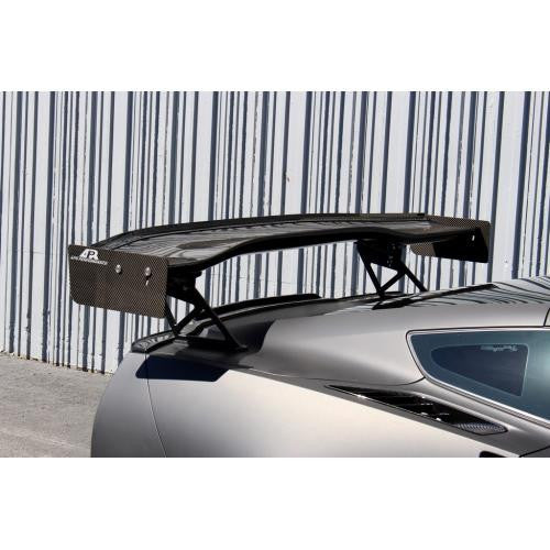 APR GTC-500 2014-up Chevrolet Corvette C7 Carbon Fiber Adjustable Wing With Spoiler Delete