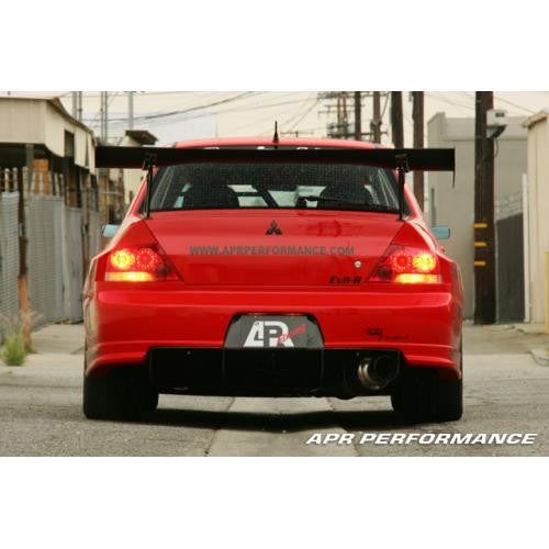 "APR GTC-300 2003-2007 Mitsubishi Evolution 8/9 Carbon Fiber Adjustable Wing 67"" Airfoils"