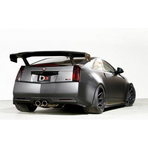 APR GTC-500 2011-up Cadillac CTS-V Coupe Carbon Fiber Adjustable Wing