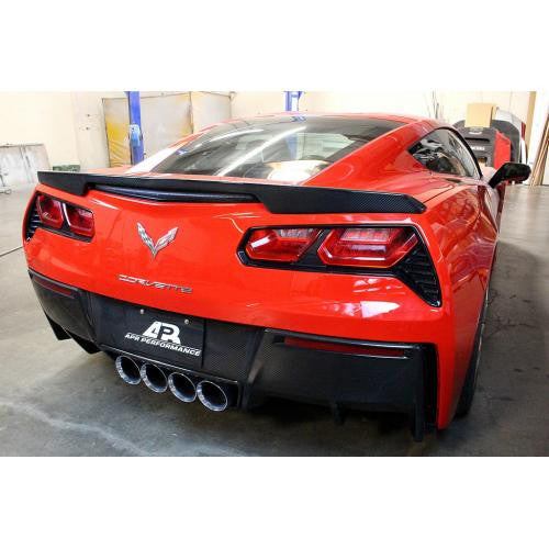 APR Carbon Fiber Rear Deck Spoiler 2014-up Chevrolet Corvette C7 Version 1