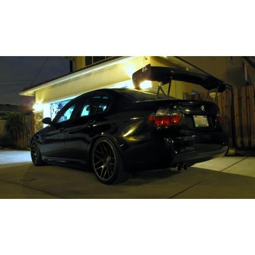 "APR GTC-300 2005-2011 BMW E90 Carbon Fiber Adjustable Wing 67"" Airfoils"