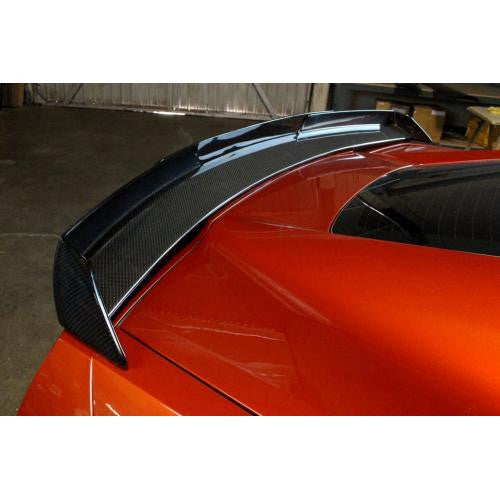 APR Carbon Fiber Rear Deck Spoiler 2015-up Chevrolet Corvette C7 Z06 Track Pack With APR Wickerbill
