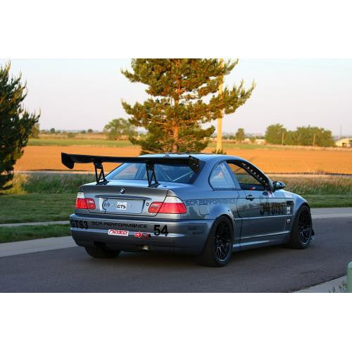 "APR GTC-300 2001-2006 BMW E46 M3 Carbon Fiber Adjustable Wing 67"" Airfoils"