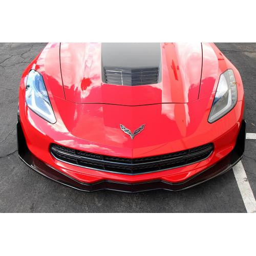 APR Carbon Fiber Front Air Dam 2014-up Chevrolet Corvette C7 Track Pack