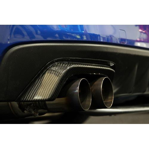 APR Performance Carbon Fiber Exhaust Heat Shield 2015-2016 Subaru WRX/STI