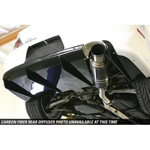 APR Carbon Fiber 2003-2007 Mitsubishi Evolution 8 & 9 Rear Diffuser Fits USDM Rear Bumper Only