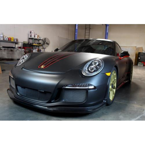 APR Carbon Fiber Front Air Dam 2013-2016 Porsche GT3