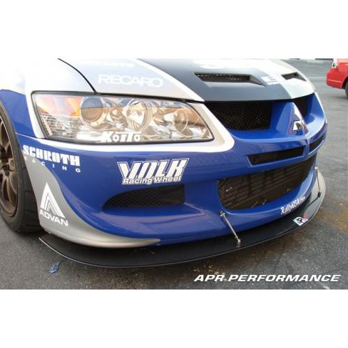 APR Carbon Fiber Wind Splitter 2003-2005 Mitsubishi Evo 8