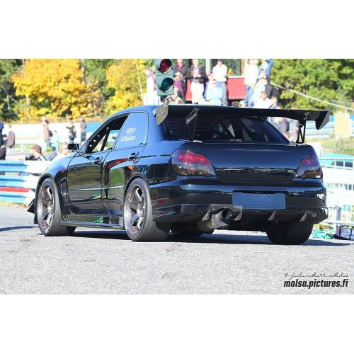 "APR GTC-300 2002-2007 Subaru WRX/STI Carbon Fiber Adjustable Wing 67"" Airfoils"